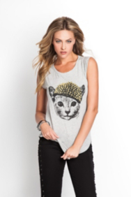 GUESS Gaga Kitty Tee