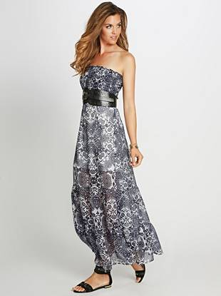 Simply beautiful and breezy, you'll love the luxurious feel of this silk maxi dress. Ultra-light construction and a fluid quality make it one of our favorites to wear around town or on a beach-front vacation.