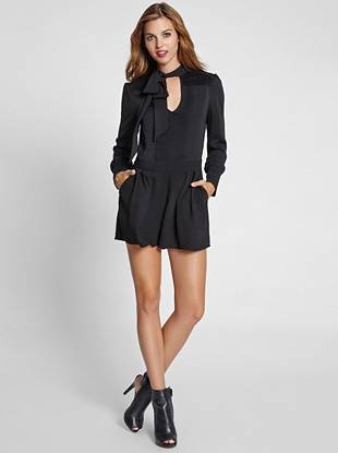 Sweet, sexy and fashion focused, this all-in-one romper answers every