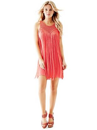 Sleeveless Fringe Dress