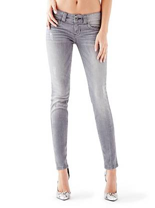 Online Exclusive WHY YOU NEED IT: Our beloved skinny fit made with denim that offers slight stretch to keep you comfortable. The sexy low rise sits low on your hips and the wide waistband is ultra-flattering on any shape. We love wearing this grey wash as an easy alternative to everyday jeans.