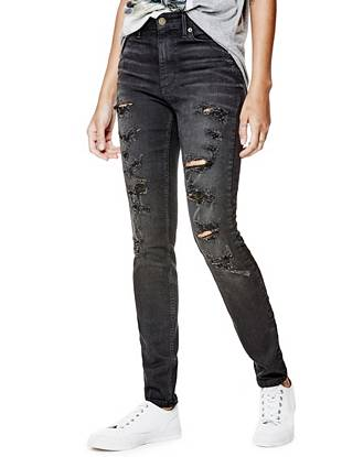 1981 High-Rise Skinny Jeans in Clocker Wash