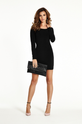 Sale alerts for  Long-Sleeve Crossover Body-Con Dress - Covvet