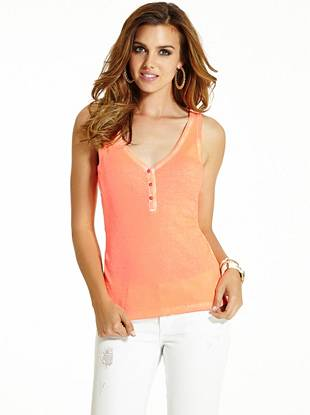 A must-have tank for layering or wearing solo, you'll love this essential henley for its perfect fit and luxurious feel.