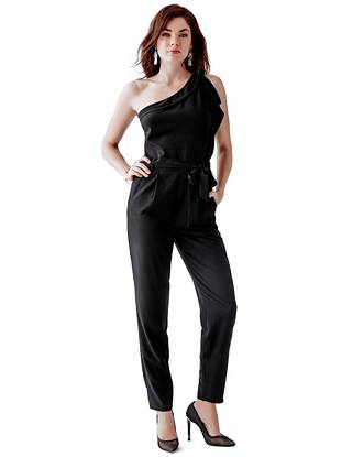 One-Shoulder Jumpsuit