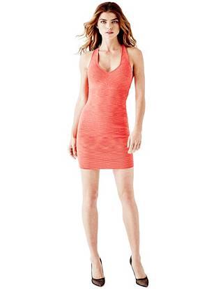 Club Dresses - Sleeveless Mirage Cross-Back Bandage Dress