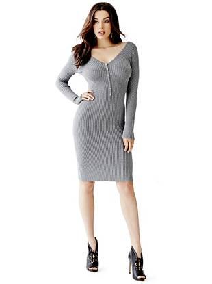 Club Dresses - Allison Henley Sweater Dress