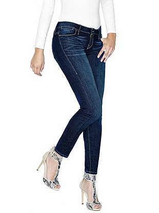 Indigo Wash Jeans - Low-Rise FleX Jeans in Ixtapa Wash