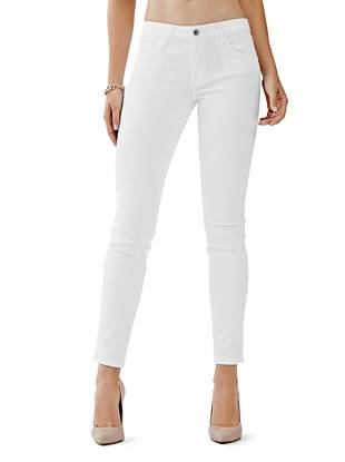 Mid-Rise Curve X Jeans in True White Wash