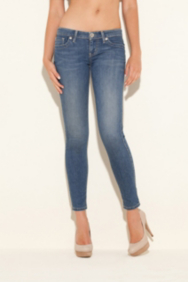 Power Skinny Jeans in Resolute