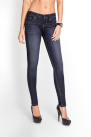 Power Skinny Jeans in CRX Wash