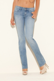 Brittney Bootcut Jeans in Instrumental Wash