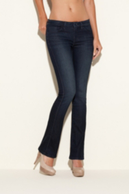 Brittney Petite Bootcut Jeans in CRX Wash, 30