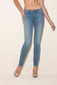 Brittney Skinny Jeans in Heavenly Wash