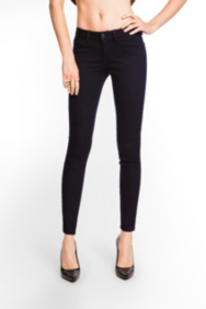 Brittney Indigo Denim Leggings with Rinse