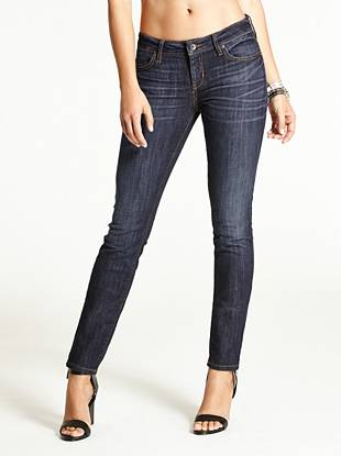 WHY YOU NEED IT: Our tried-and-true skinny fit constructed with American denim. It has the look and feel of a classic jean but it stretches for a sexy fit that keeps you comfortable.