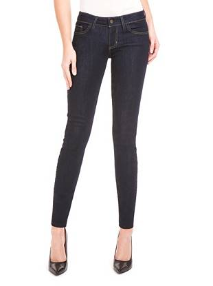 Power Skinny Low-Rise Denim Leggings with Rinse