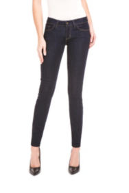 Power Skinny Jeans with Silicone Rinse