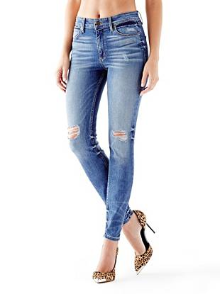 1981 High-Rise Skinny Jeans in Jamestown Wash