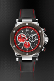 Gc-3 Chrono Timepiece – Silver/Black