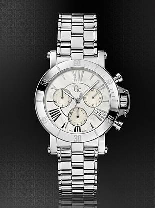 Gc Swiss Watches - Gc Femme Watch Silver-Tone Timepiece