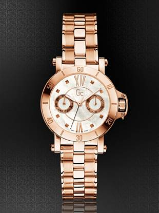 Gc Swiss Watches - GC Femme Rose Gold-Tone Timepiece