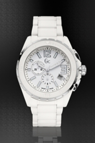 XXL Phantom White Ceramic Timepiece