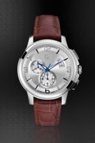 Gc Classica Chrono Timepiece – Silver/Brown