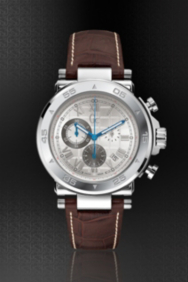 Gc-1 Sport Timepiece – Silver/Brown