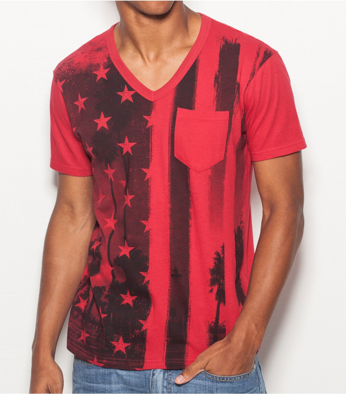 Image: G by GUESS Bier Tee, VARSITY RED (XXL)