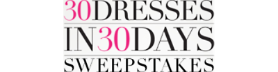 30 Dress in 30 Days sweeps   GUESS