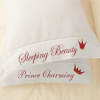 Gump's San Francisco - Happily Ever After Pillowcases :  pillow case pillowcase gumps san francisco bedding