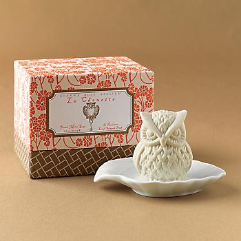 Gump's San Francisco - Owl Soap with Dish
