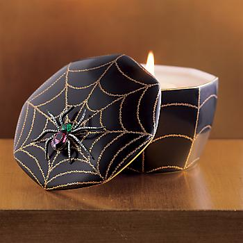 Gump's San Francisco - Swarovski Spider Candle