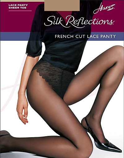 Hanes Pantyhose Silk Reflection 40