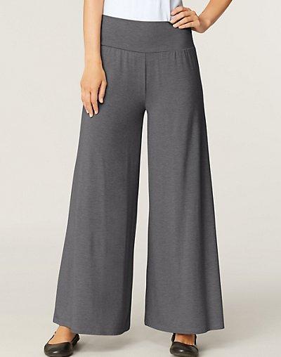 Women's Hanes Signature&reg Soft Luxe Wide Leg Pant style 25102