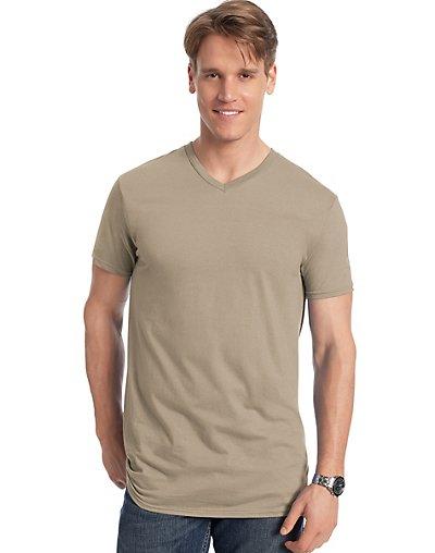 Men's Nano-T V-Neck T-Shirt style 498V