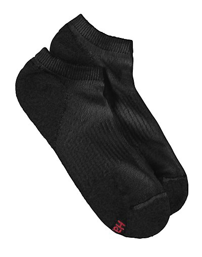 Hanes Men's Socks When it comes to men's socks, Hanes delivers on comfort, performance and fit. Our soft no show socks cut below the ankle for minimal visibility and include performance features to keep your feet cool and dry.