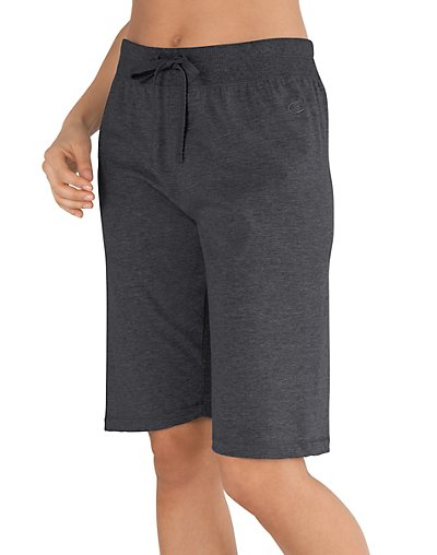 Champion-Favorite-Cotton-Jersey-Women-039-s-Bermuda-Shorts-style-8287