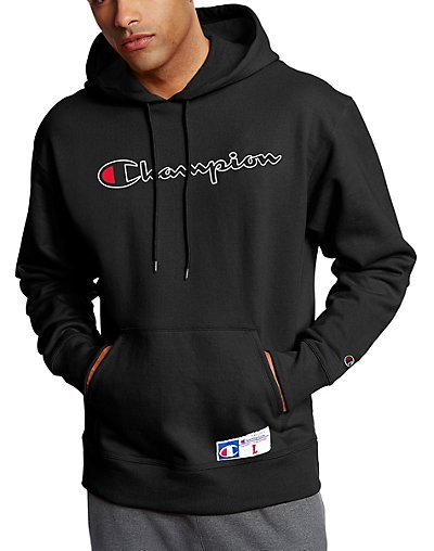 Champion Men's Retro Graphic Pullover Hoodie Sweatshirt | eBay