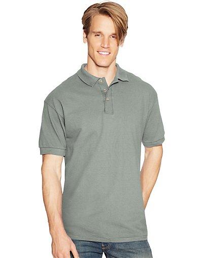 Hanes-ComfortSoft-Cotton-Pique-Mens-Polo-style-055X