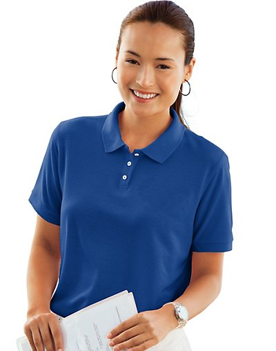 Outer-Banks-by-Hanes-Womens-Essential-Wrinkle-Resistant-Polo-style-2525