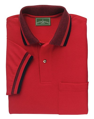 Outer-Banks-by-Hanes-Birdseye-Trim-Pique-Mens-Polo-style-5032