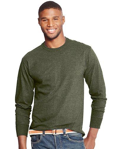 Hanes Men's ComfortBlend Long-Sleeve T-Shirt Men's Shirts