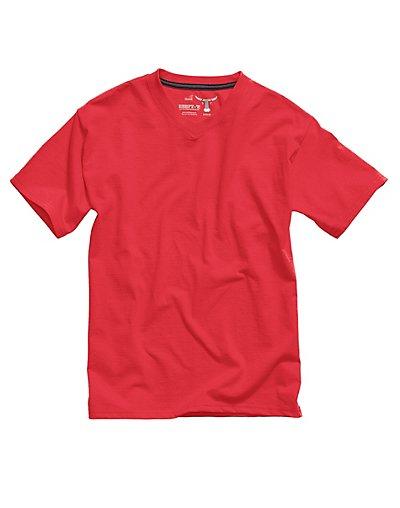 Hanes Kids 39 V Neck Beefy T T Shirt Ebay