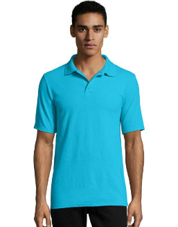 Hanes Men's X-Temp w/Fresh IQ Pique Polo men Hanes