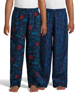 Hanes Boys' Micro Fleece Sleep Pant 2-Pack youth Hanes