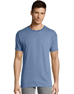 Hanes Men's 1901 Heritage Dyed Crewneck T-shirt 4-Pack 191CA4