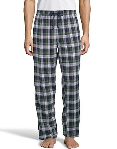 Hanes Men's Jersey Flannel Pants