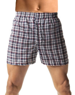 Hanes Men's TAGLESS® Woven Boxers with Comfort Flex® Waistband 3X-5X 3-Pack men Hanes